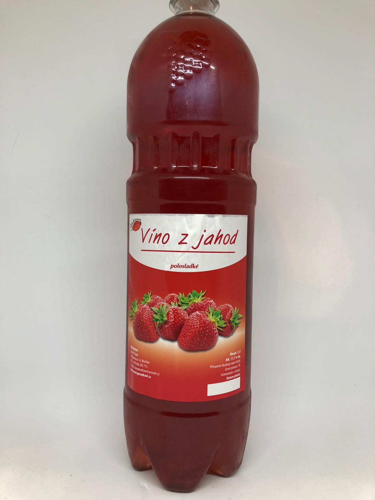 Víno z jahod